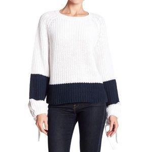 360 Sweater Lilah Colorblock Stripe Sweater